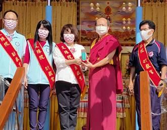 世界佛教正心會行動佛殿抵嘉 辦國慶祈福法會