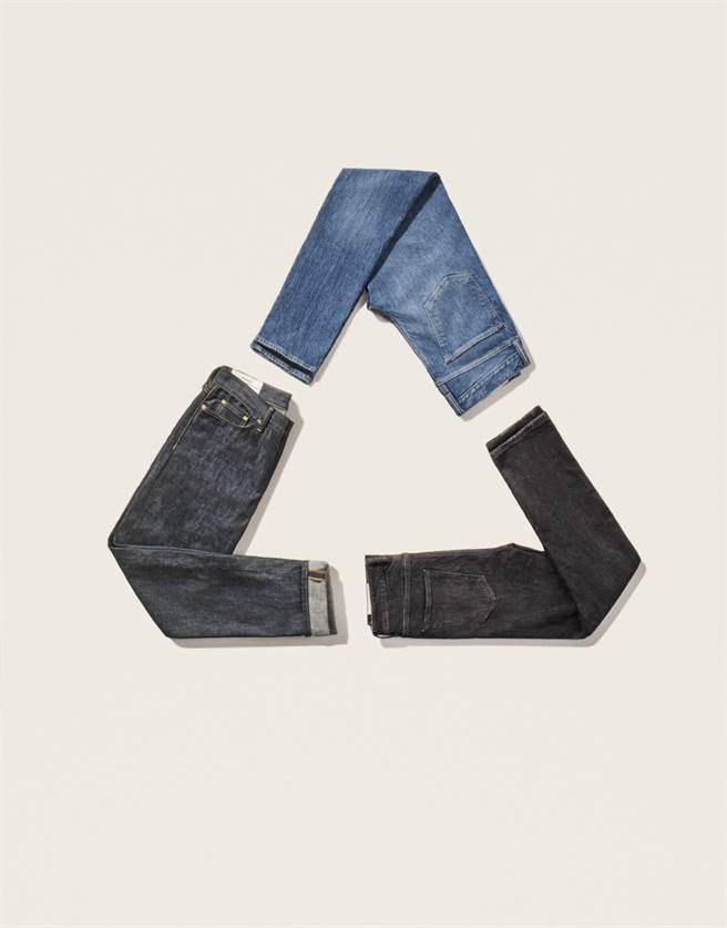 瑞典平價時裝攜手艾倫•麥克阿瑟基金會推全新永續環保丹寧牛仔褲(圖/品牌提供)