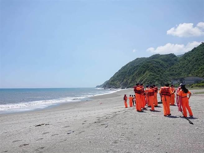 宜蘭縣內埤海灘(情人灣)曾經5年內有9人溺水身亡(圖/中時資料庫)