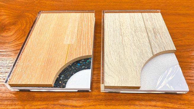 因應分戶樓板隔音新政策,地材業者推出隔音墊與木地板的套裝方案。圖/業者提供