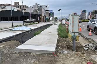 頭份市重要道路進入交通施工黑暗期 市長呼籲市民體諒