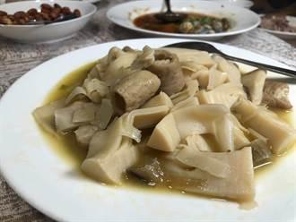 台菜名店吃到「酸筍炒腸」 作家驚:喪宴作法闖大禍了