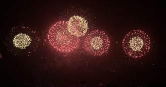 台南國慶焰火圖案神似「新冠病毒」 網友笑:呼應時事