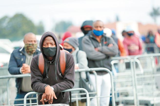 疫情加劇黑人困境圖╱路透