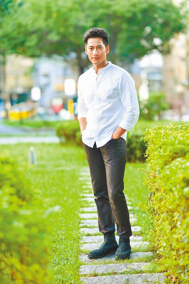 周孝安演出白先勇經典作《孽子》舞台劇。(盧禕祺攝)