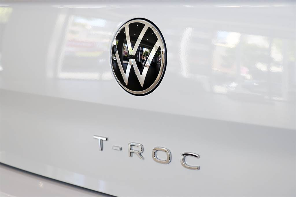 T-ROC是福斯台灣首款導入新廠徽的車型。