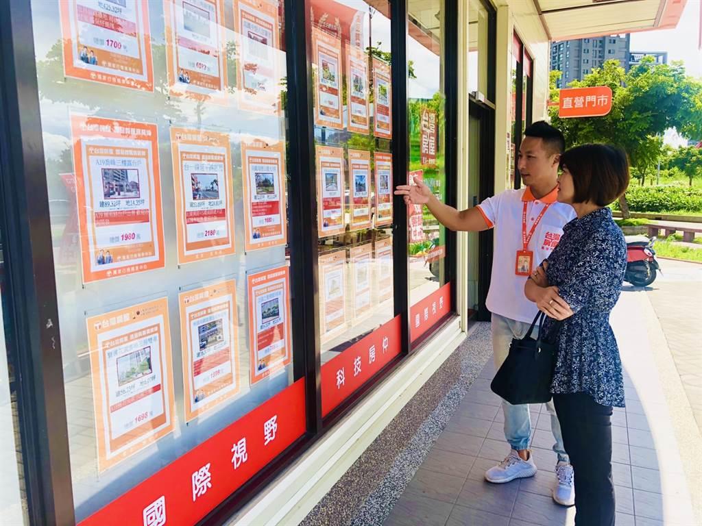 根據台灣房屋內部成交資料統計顯示,近3年購屋座向的變化,帝王座向「座北朝南」減少4個百分點。(台灣房屋提供)