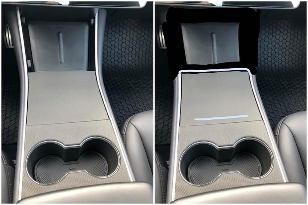 Model 3 改版確認!電動尾門、雙層玻璃、鍍鉻黑化、中控置物箱都更新,還沒交車的有福啦!