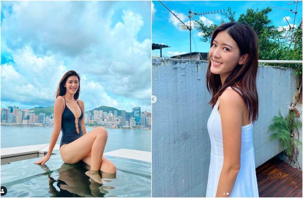 27歲香港女星余香凝。(圖/翻攝自IG)