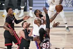 NBA》隊史第17冠!詹皇大三元領湖人輕鬆封王