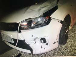 3車衝撞意外 警方依法處理