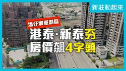 [專題報導] 新莊動起來 | 港泰新泰正夯 | 房價飆4字頭 !