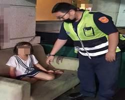 媽媽加班未返家 9歲女童外出尋母累癱騎樓下