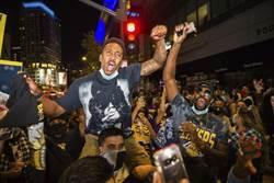 NBA》湖人封王 球迷在家開窗齊喊「Kobe」