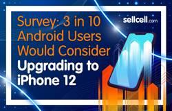 大賣預兆?超過3成Android手機用戶打算跳槽買iPhone 12