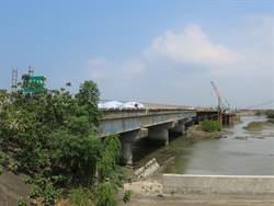 聯絡台南、嘉義五王大橋 完工時間延後1年