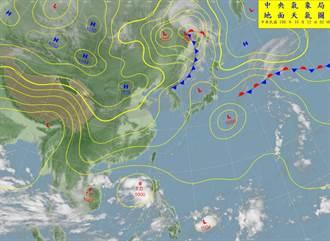 南卡颱風後面還有「沙德爾」彭啟明:前身重創台灣