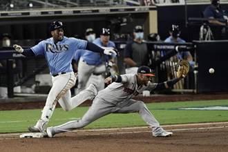 MLB》光芒2比1險勝太空人 美聯冠軍戰系列賽先下一城