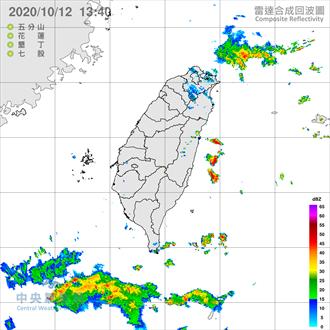 雨勢又來了!北北基發布大雨特報