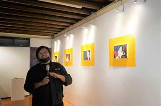 台南鹽水月之美術館特展 粗曠男畫出女性輪廓美