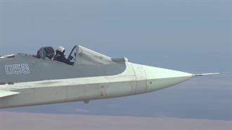 戰機當作敞篷車 俄蘇57無人駕駛後再測無艙蓋飛行