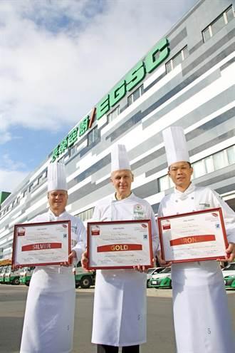 長榮桂冠酒店、長榮空廚 奪亞太區2020世界巧克力大賽金牌
