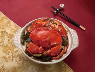 秋蟹正好!台北5星飯店沙公煲、海膽燉飯飽口福
