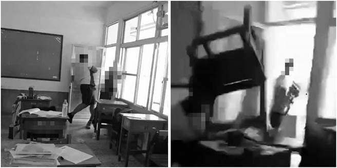 一名家長於臉書心痛地表示,孩子在學校遭同學用木椅狠砸頭,而校方給的回應更讓她心痛又無奈。(圖/翻攝自當事人臉書)