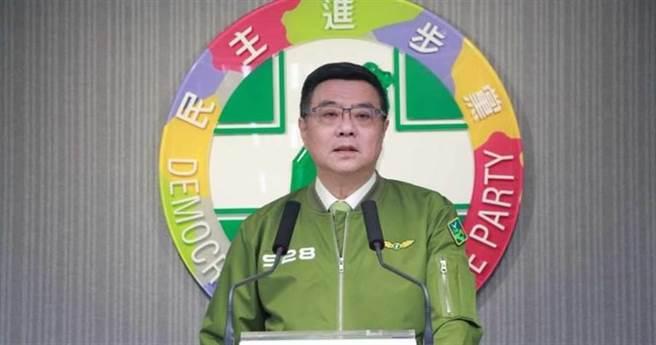 民进党前主席卓荣泰。(资料照片)