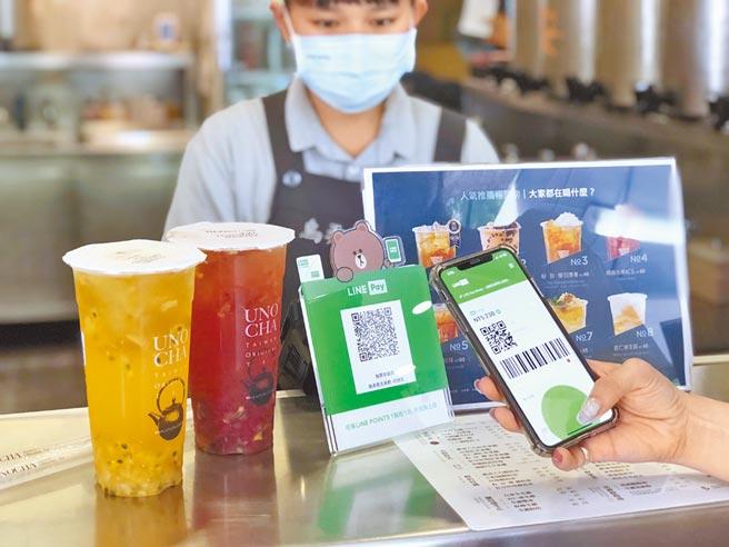 行動支付使用人數大增,過往標榜高回饋的聯名卡也吃不消,繼中信LINE Pay卡後,玉山Pi拍錢包信用卡及台新街口聯名卡,陸續在這兩個月調整權益。(LINE Pay提供)