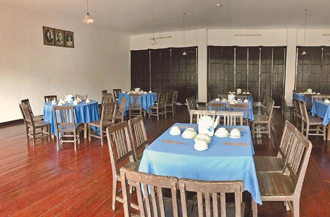 黃埔軍校食堂。(作者提供)