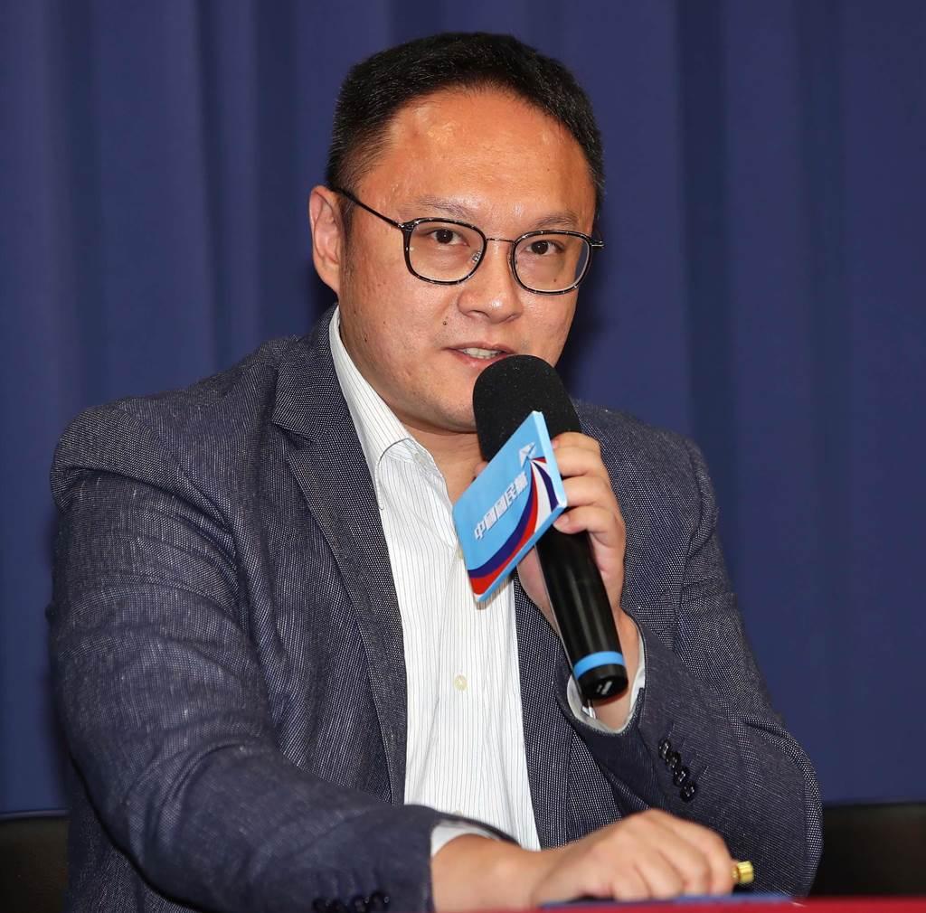 國民黨文傳會副主委鄭照新(本報資料照/季志翔攝)