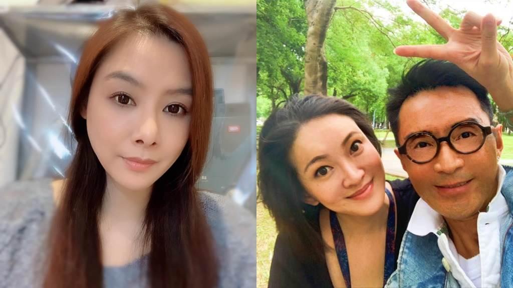 林利老婆怒控陳柏渝小三,反引火自焚。左圖為陳柏渝,右為林利夫婦。(圖/FB@陳柏渝、林利)
