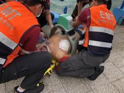 澎湖60歲男疑溺水倒海邊階梯前 送醫不治