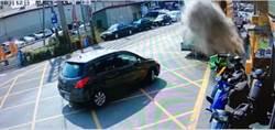 垃圾車瞬間巨大塵爆竟是民眾丟香灰惹禍 彰化市長怒喊嚴辦