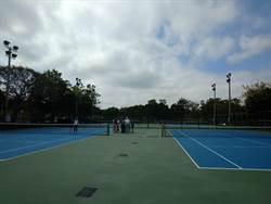 年可發電2.5萬度 施志昌爭大甲網球場設光電屋頂