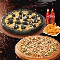搶萬聖節搞鬼商機 必勝客推「暗黑系」台味比薩