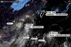 明起東北雨勢有望趨緩 「準沙德爾」外圍雨彈週末再襲台