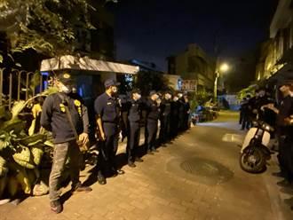 拆南鐵地下化2抗爭戶 鐵道局拂曉出擊 群眾和員警發生推擠衝突