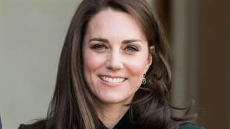 凱特王妃一身黑也超美 「新造型露燦笑」電暈眾人