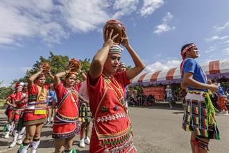 竹縣首次阿美族豐年祭 瀝青舖面傳承文化少「原味」