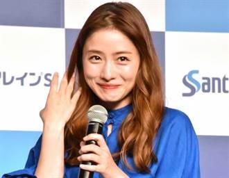 石原聰美宣布結婚首現身 網友看哭「他老婆好美」