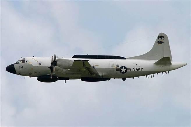 美軍EP-3獵戶座是重要的情蒐工具,在抵近大陸偵察時,解放軍會暫時保持雷達與通訊靜默,避免電磁頻譜遭收集記錄。(圖/美國海軍)