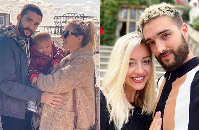 男星湯姆帕克罹患膠質母細胞瘤,且是末期餘命剩1年多,而老婆腹中二寶,才將誕生而已。(取材自tomparkerofficial IG)