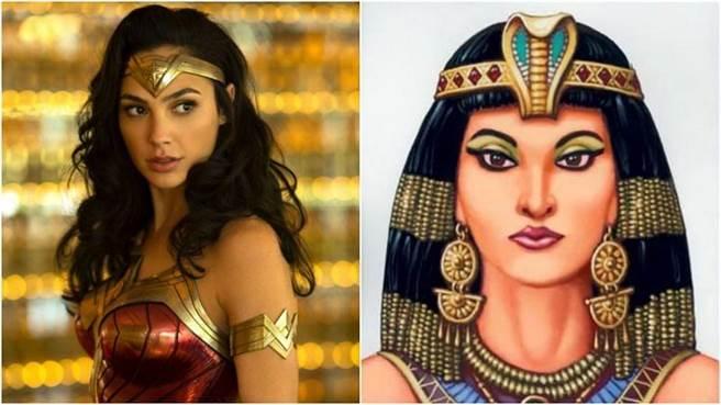 以色列女星盖儿加朵将饰演埃及艷后。(图/华纳、网路图片)