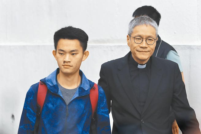 涉嫌在台灣殺死女友潘曉穎的港男陳同佳。(美聯社)