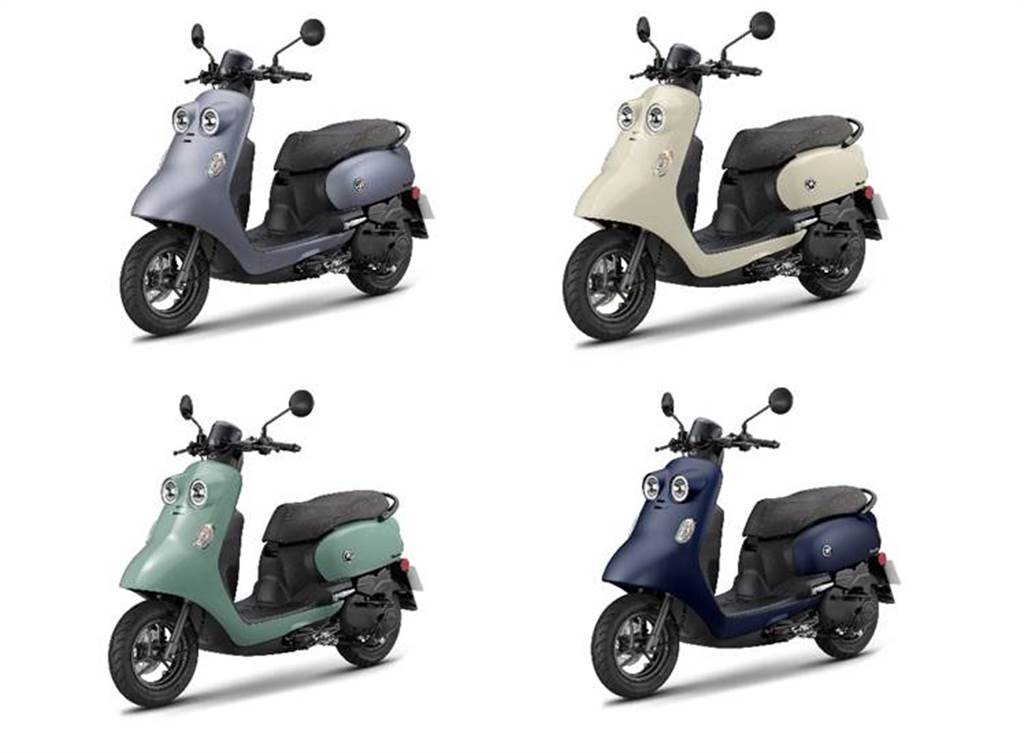 Vinoora推出四款車色,主攻女性市場。