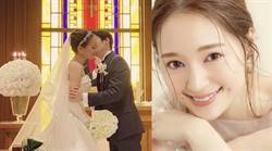 chay獻白紗新婚吻 「國民拌飯香鬆」千金婚禮避疫拖半年