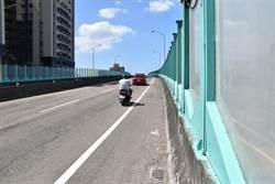 苗栗民代接獲民眾反映 清寧路橋機車安全設施不足