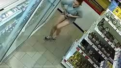 內褲變百寶袋!美腿正妹超市掀裙 贓物全往裡面塞